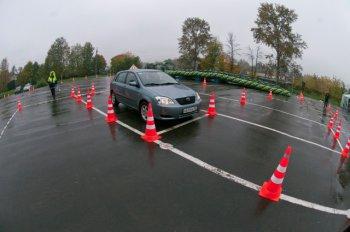Практическое вождение при обучении в автошколе